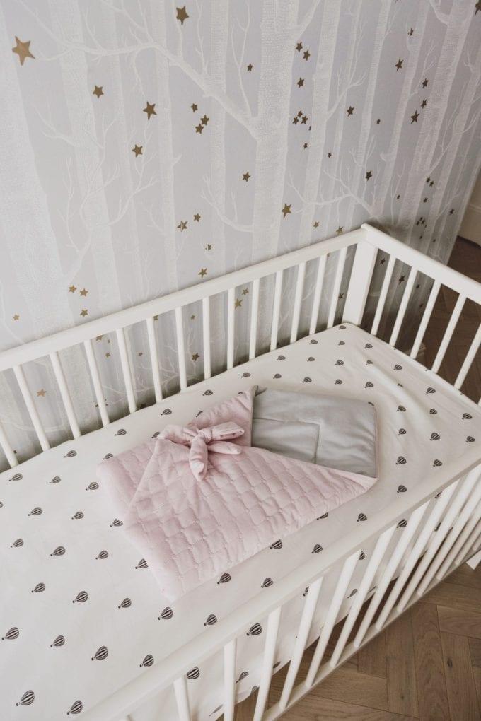 rozek niemowlecy szaro rozowy 1974