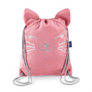 plecako worek truskawkowy kotek 2276