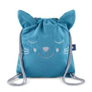 plecako worek truskawkowy kotek 2280