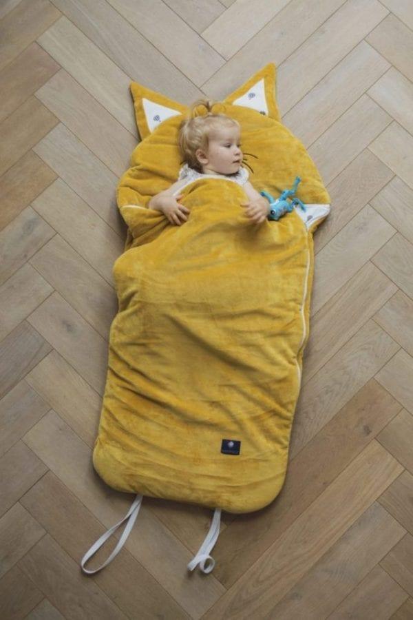 spiworek sleepover small musztardowy 2814