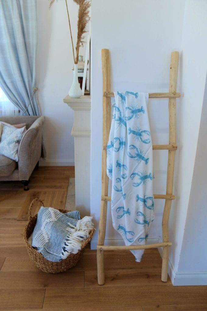 lobster blue otulacz chusta bambusowa