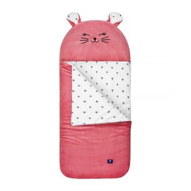 śpiwór zwierzak dla dzieci śpiworek kotka florence