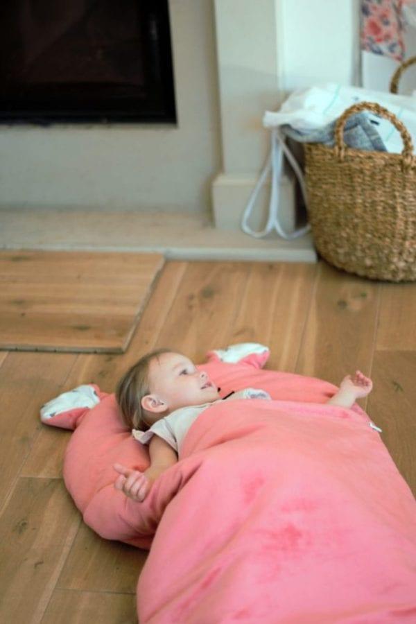 spiworek sleepover truskawkowy kotek