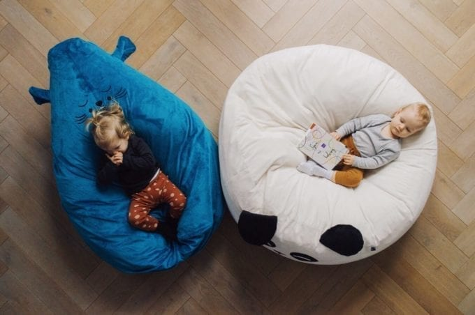puf maxi biala panda 3241