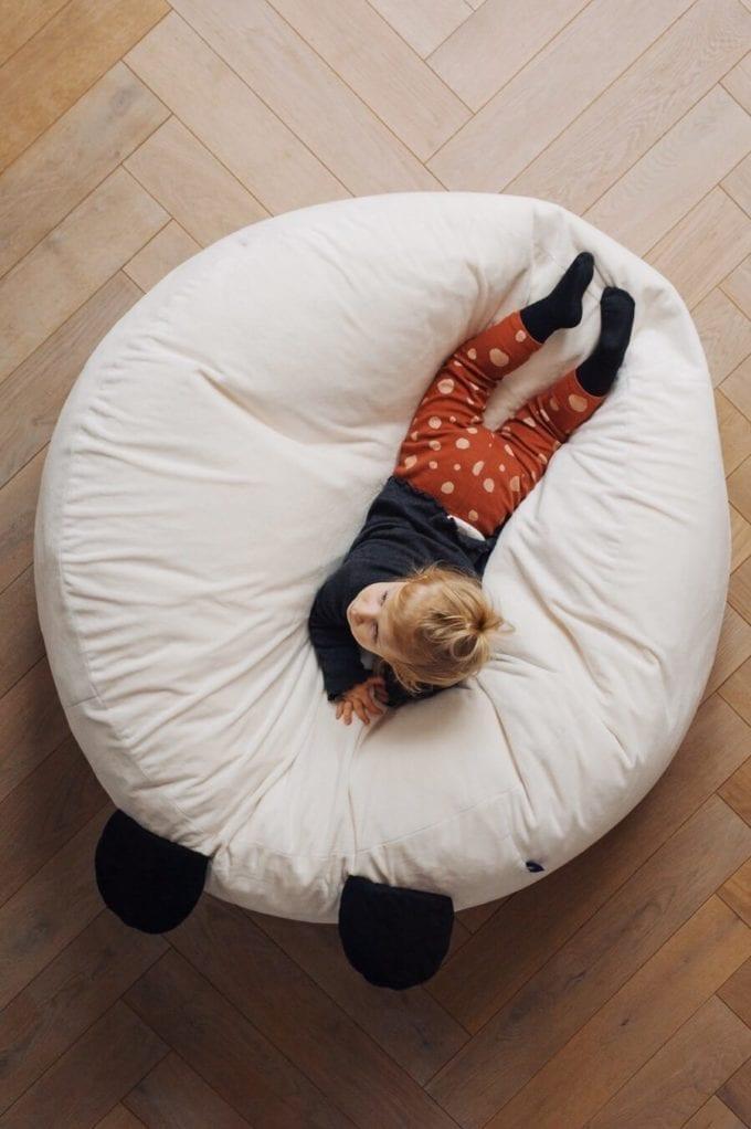 puf maxi biala panda 3244