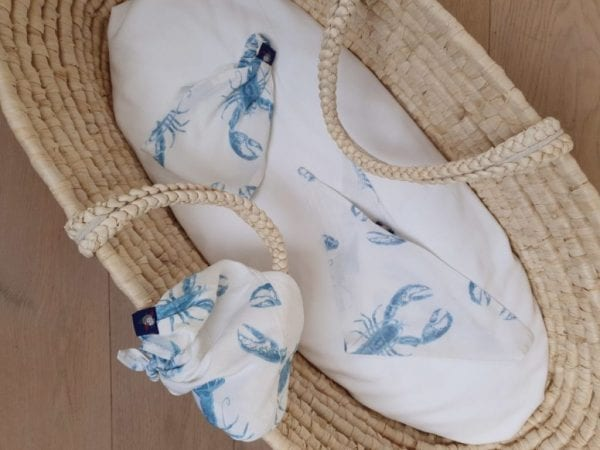 chusteczka z daszkiem opaska chusteczka pod szyje lobster vibes blue 1