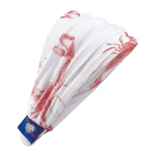 opaska na glowe lobster strawberry pink