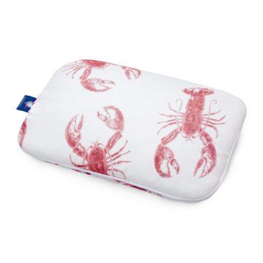 plaska poduszka lobster strawberry pink
