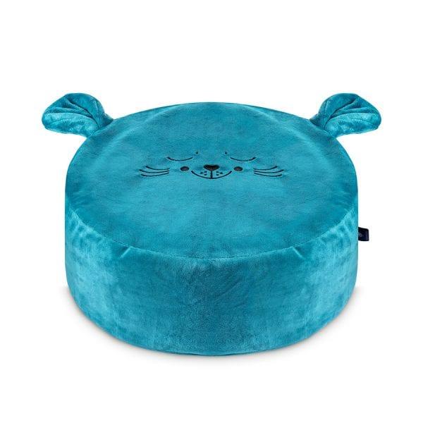 morska foka mini puf dla dzieci mini pufa do pokoiku siedzisko dla dzieci puf worek pufa z wypelnieniem
