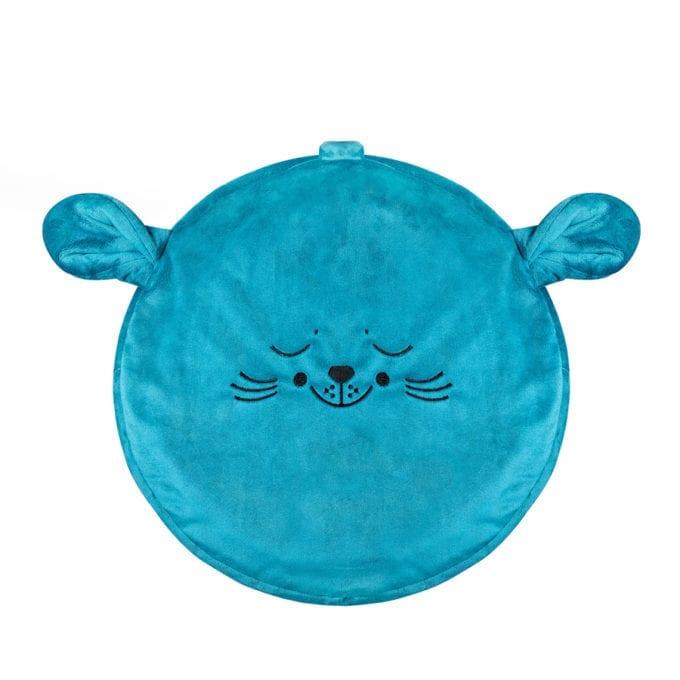 morska foka mini puf dla dzieci mini pufa do pokoiku siedzisko puf worek
