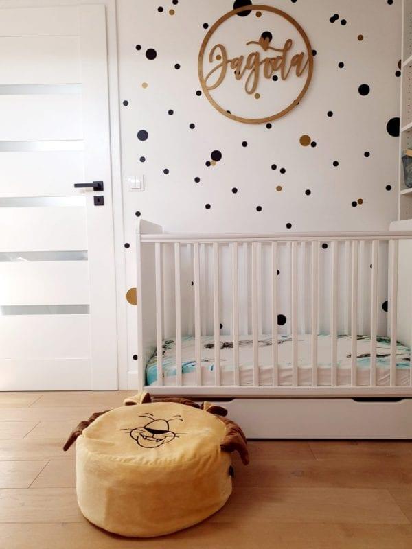 piaskowy lew mini puf mini pufa dla dzieci mini pufa dziecieca mini pufa do pokoiku dzieciecego mini puf worek mini pufa z wypelnieniem