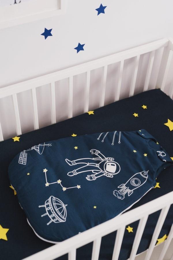 spiworek niemowlecy 0 4 w kosmos ciemny