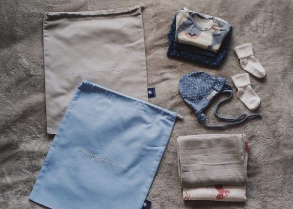 woreczki wash me wear me szaro niebieskie pakowanie