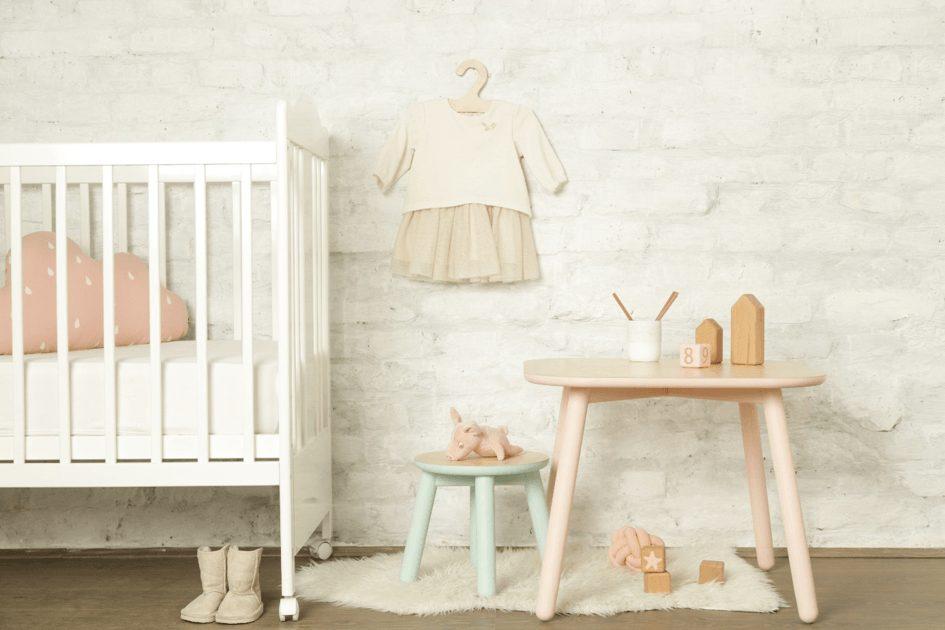 pokoj dla dziewczynki niemowlaka