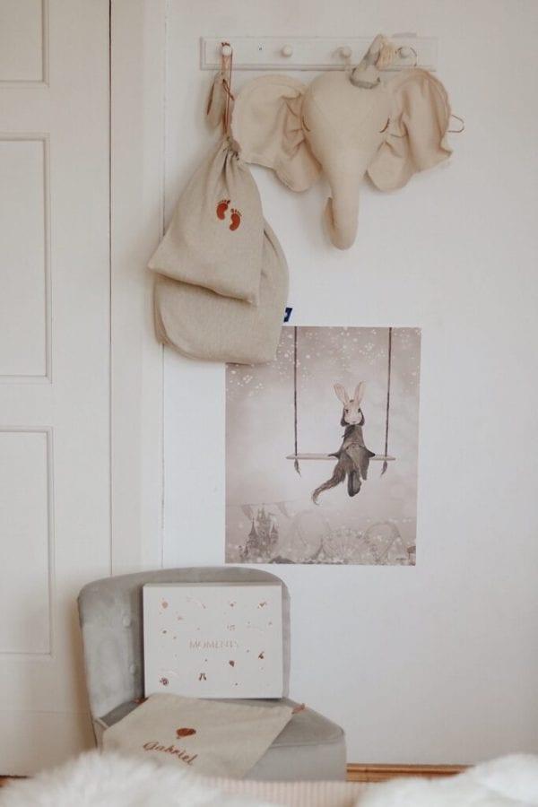moments box w pokoiku woreczki
