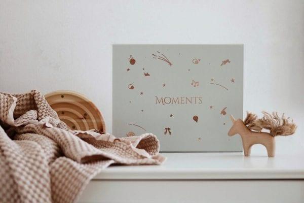 Moments box - pudełeczko wspomnień front