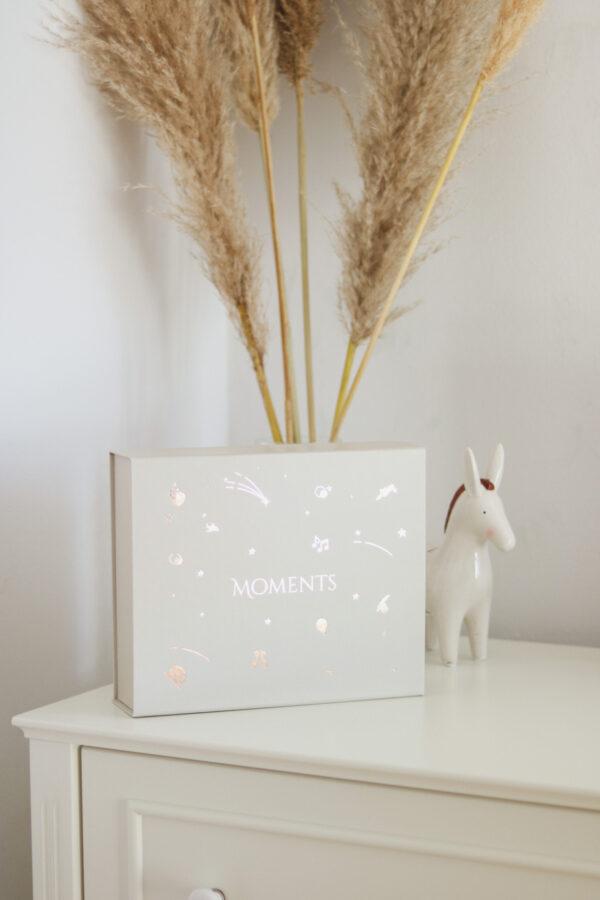 pudełko wspomnień dla chłopca i dziewczynki