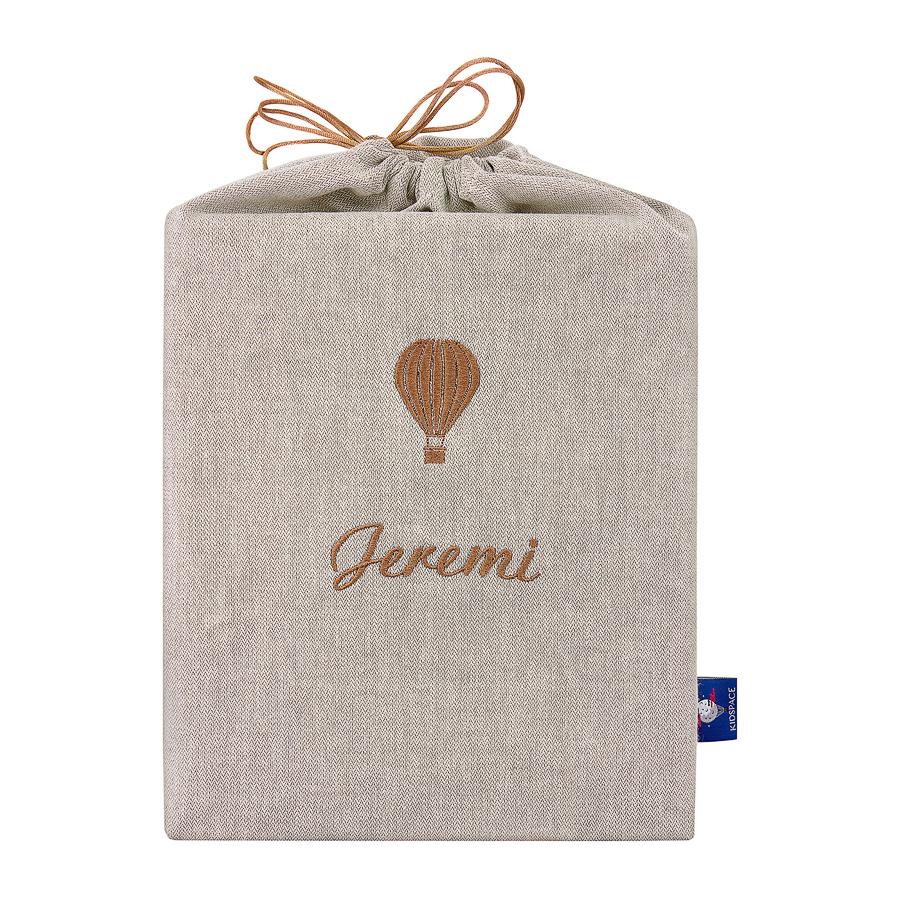moments box linen bag