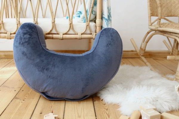 poduszka do karmienia otulacz lobster blue5