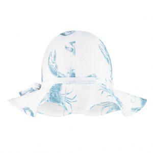 kapelusz dziewczecy lobster blue