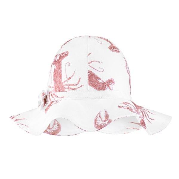 kapelusz dziewczecy lobster pink