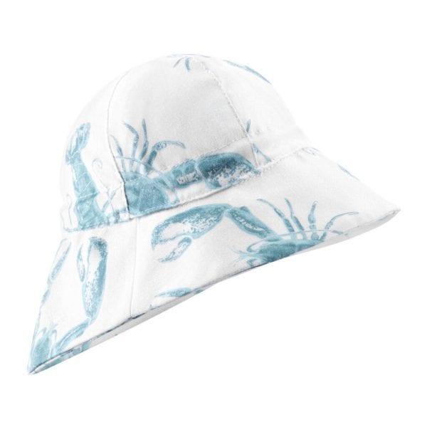 kapelusz z przedluzanym tylem lobster blue