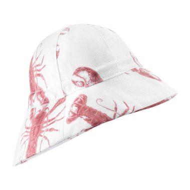kapelusz z przedluzonym tylem lobster strawberry pink