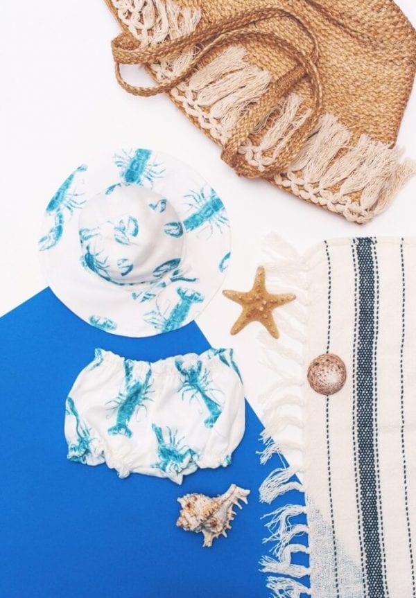 377c09c1 bloomersy kapelusz z rondem lobster blue