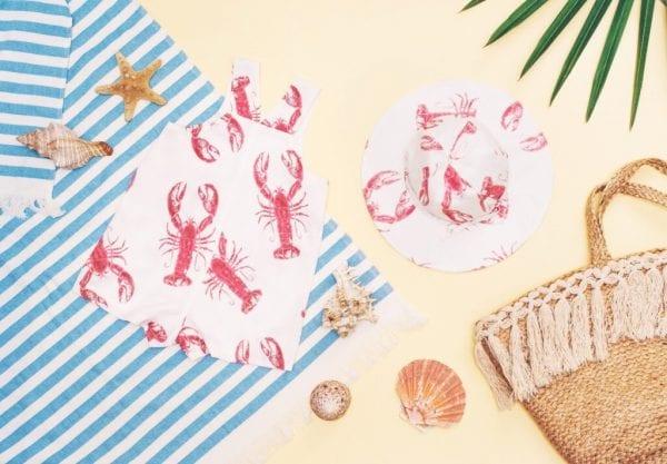 ebbd7459 kapelusz z rondem ogrodniczki lobster pink