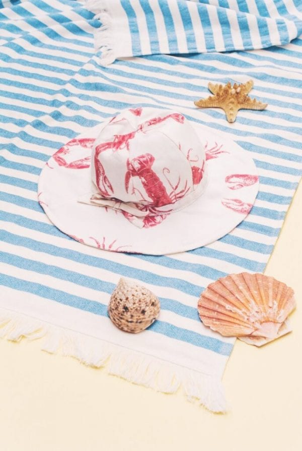 edcfe2f6 kapelusz z rondem lobster pink