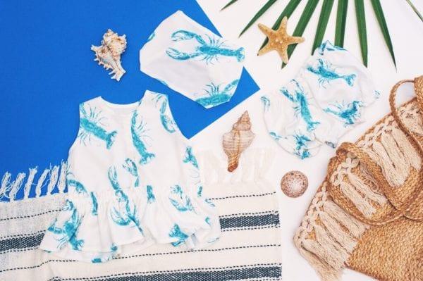 fd9553c1 bloomersy bluzeczka z baskinka opaska lobster blue