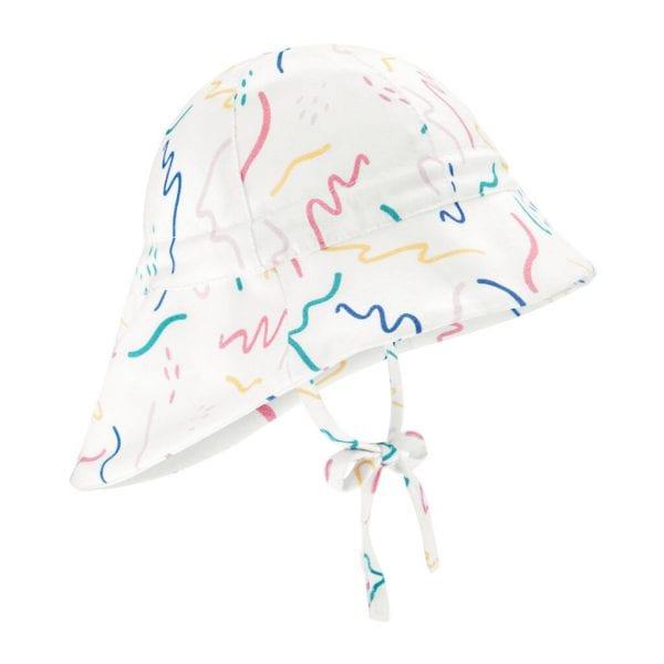 kapelusz z przedluzonych tylem zig zag