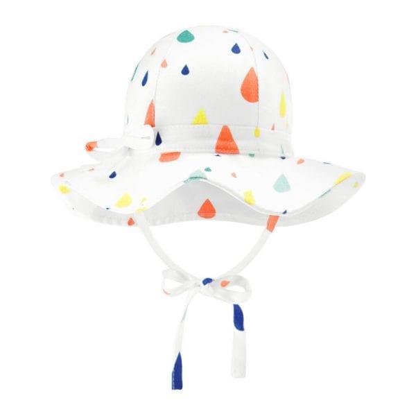kapelusz z rondem drops