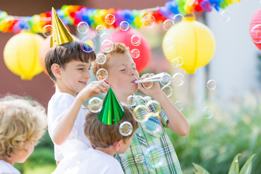 przyjecie urodzinowe w ogrodzie