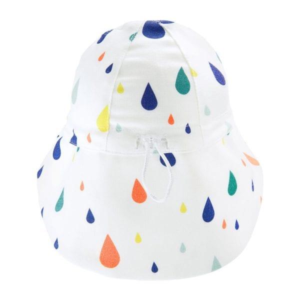 tyl kapelusza z przedluzonym tylem drops