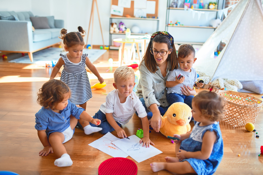 przygotowanie do przedszkola