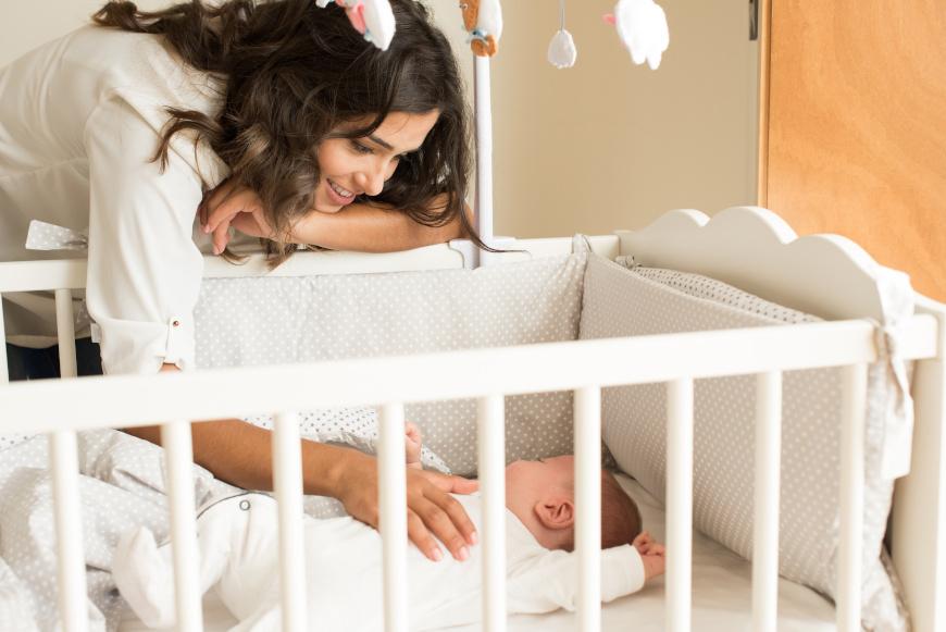 Ubieranie dziecka do spania