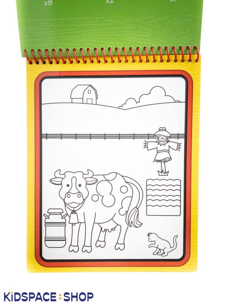 Wodna kolorowanka Melissa and Doug – kolorowanka farma