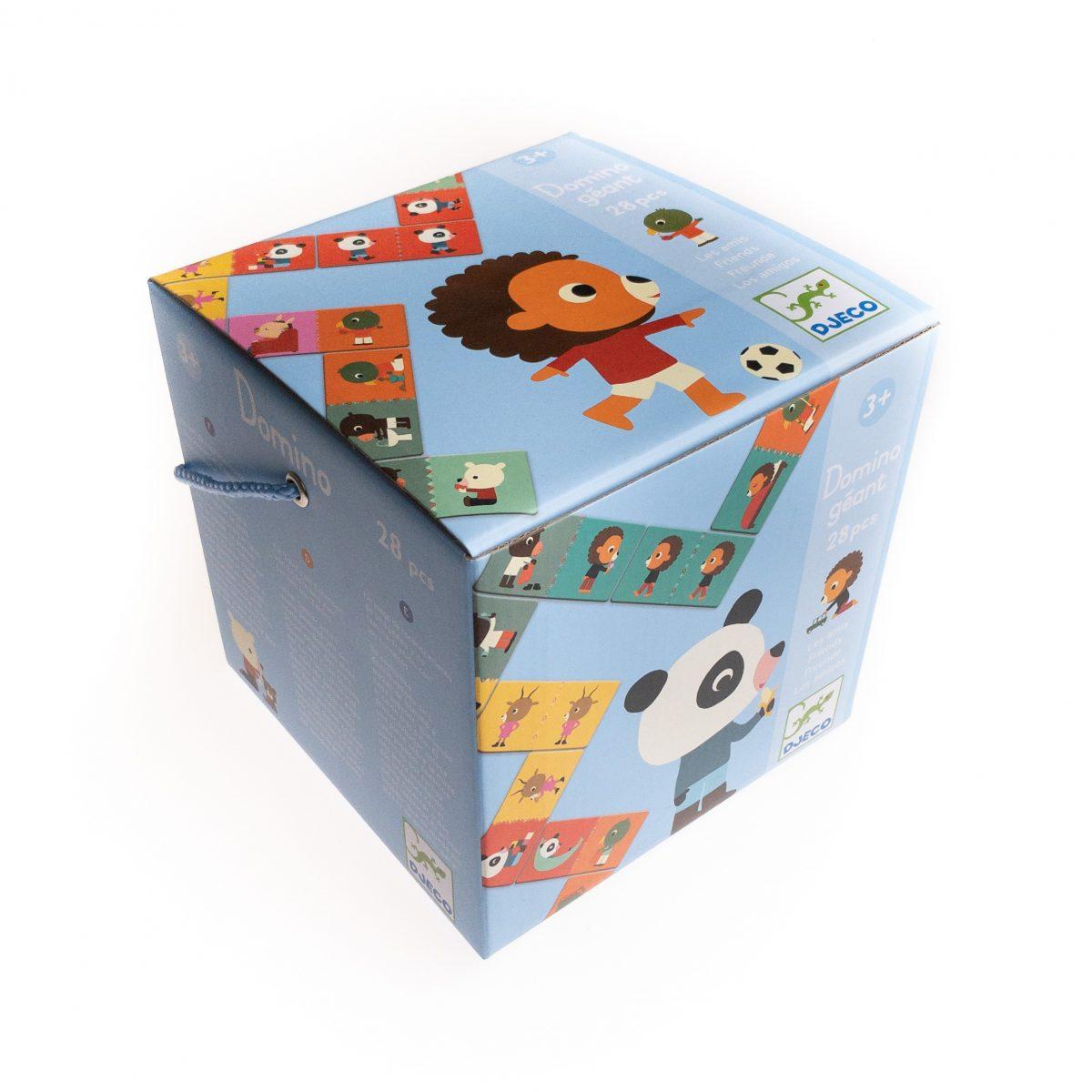Domino zwierzątka - domino gigant Przyjaciele – Djeco