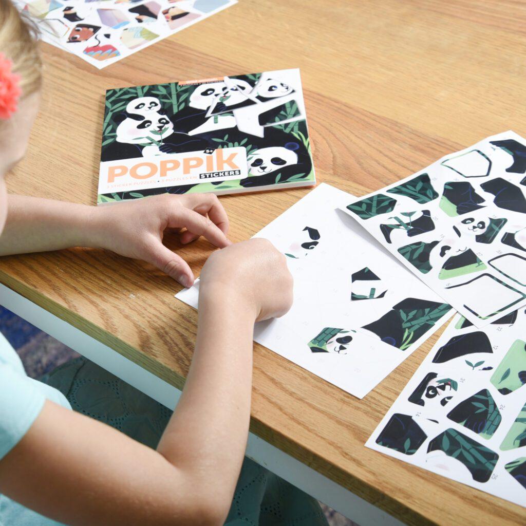 Naklejki dzikie zwierzęta od Poppik- dla pięciolatka