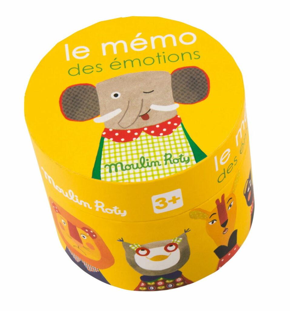 Gra memory zwierzęta - Moulin Roty