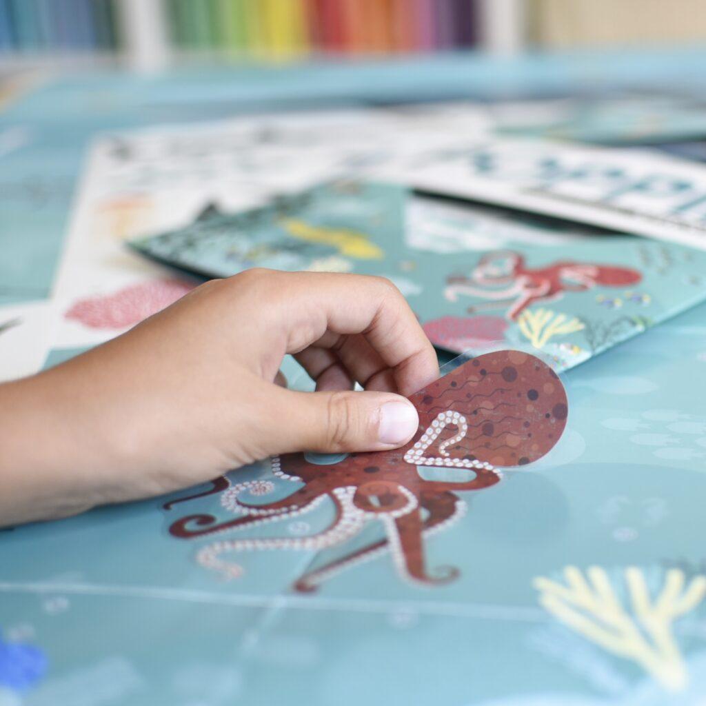 Naklejki ryby OCEAN - naklejki edukacyjne Poppik