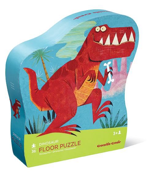 Puzzle dinozaury dla dzieci - Crocodile Creek