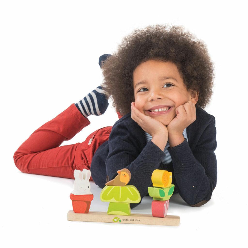 Układanka drewniana, Ogród - Tender Leaf Toys