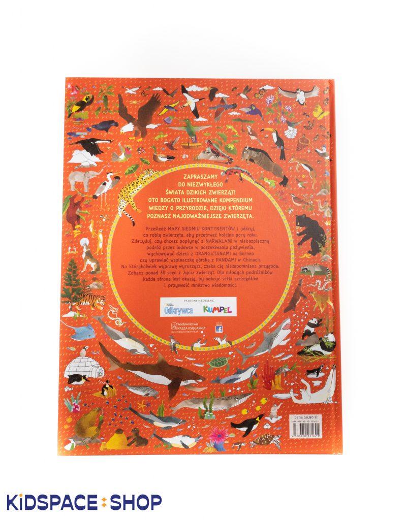 Atlas przygód zwierząt - Nasza Księgarnia