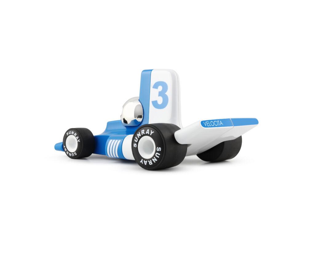 Playforever stylowy samochodzik dla dziecka niebieski - PL VF304 Verve Velocita Lorenzo