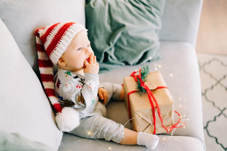Prezent na święta dla niemowlaka