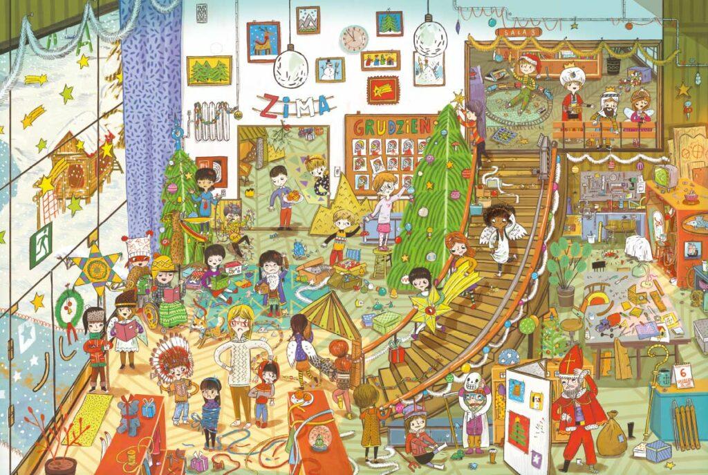 Rok w przedszkolu - Nasza Księgarnia