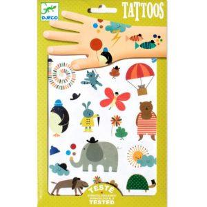 Djeco tatuaże MALUTKIE RZECZY