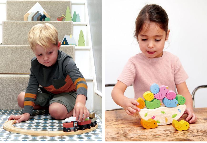 Zabawki edukacyjne dla 3-latka